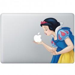 Schneewittchen Farbig (2) MacBook  Aufkleber