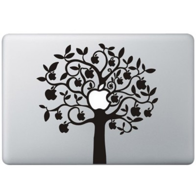 Apple Baum ( 2 ) MacBook Aufkleber