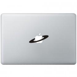 Apple Weltraum MacBook Aufkleber