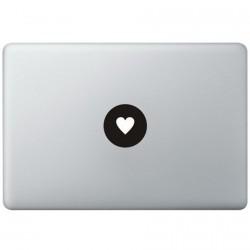 Liebe Logo MacBook Aufkleber