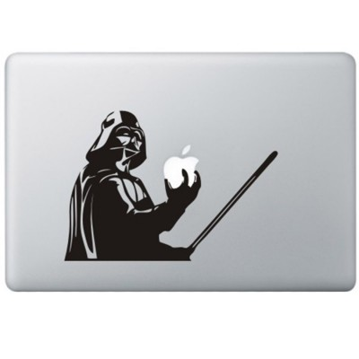 Darth Vader - Star Wars MacBook Aufkleber Schwarz MacBook Aufkleber