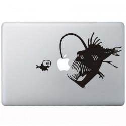 Koralle Teufel MacBook Aufkleber