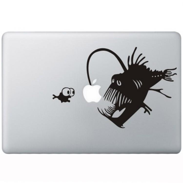 Koralle Teufel MacBook Aufkleber Schwarz MacBook Aufkleber