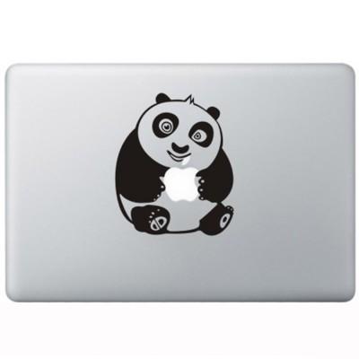 Kung Fu Panda MacBook  Aufkleber Schwarz MacBook Aufkleber