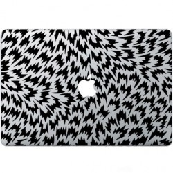 Optische Illusion Macbook  Aufkleber