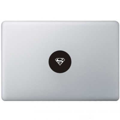 Superman Logo Macbook Aufkleber