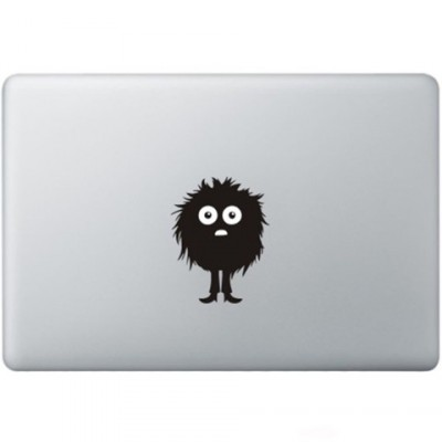 Fuzzy Guy Macbook  Aufkleber