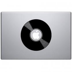 Vinyl Schallplatte  Macbook  Aufkleber