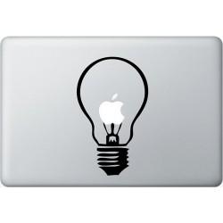 Lampe MacBook  Aufkleber