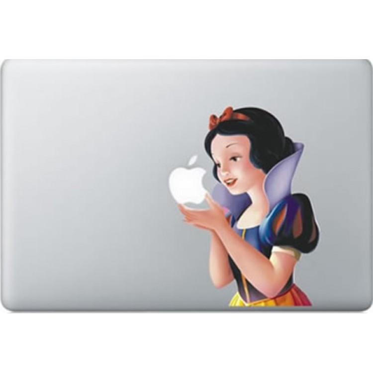 Schneewittchen farbig MacBook Aufkleber Fabrige MacBook Aufkleber