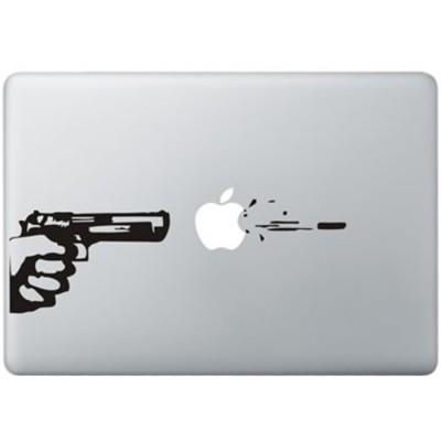 Kugel Feuer MacBook Aufkleber