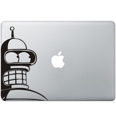 Futurama Bender MacBook Aufkleber